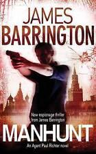 Manhunt (Bello),Barrington, James,Good Book mon0000046818