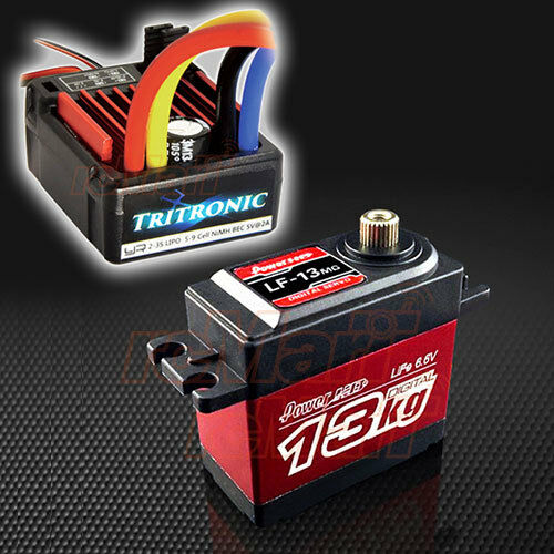 Yeah Racing Tritronic Tritronic Tritronic Waterproof Brushed ESC Power HD Servo 1 10 RC Cars  CB0850 1aea24