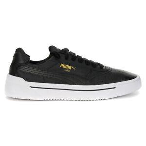 PUMA Men's Cali-0 Puma Black/Puma White Sneakers 36933701 NEW!