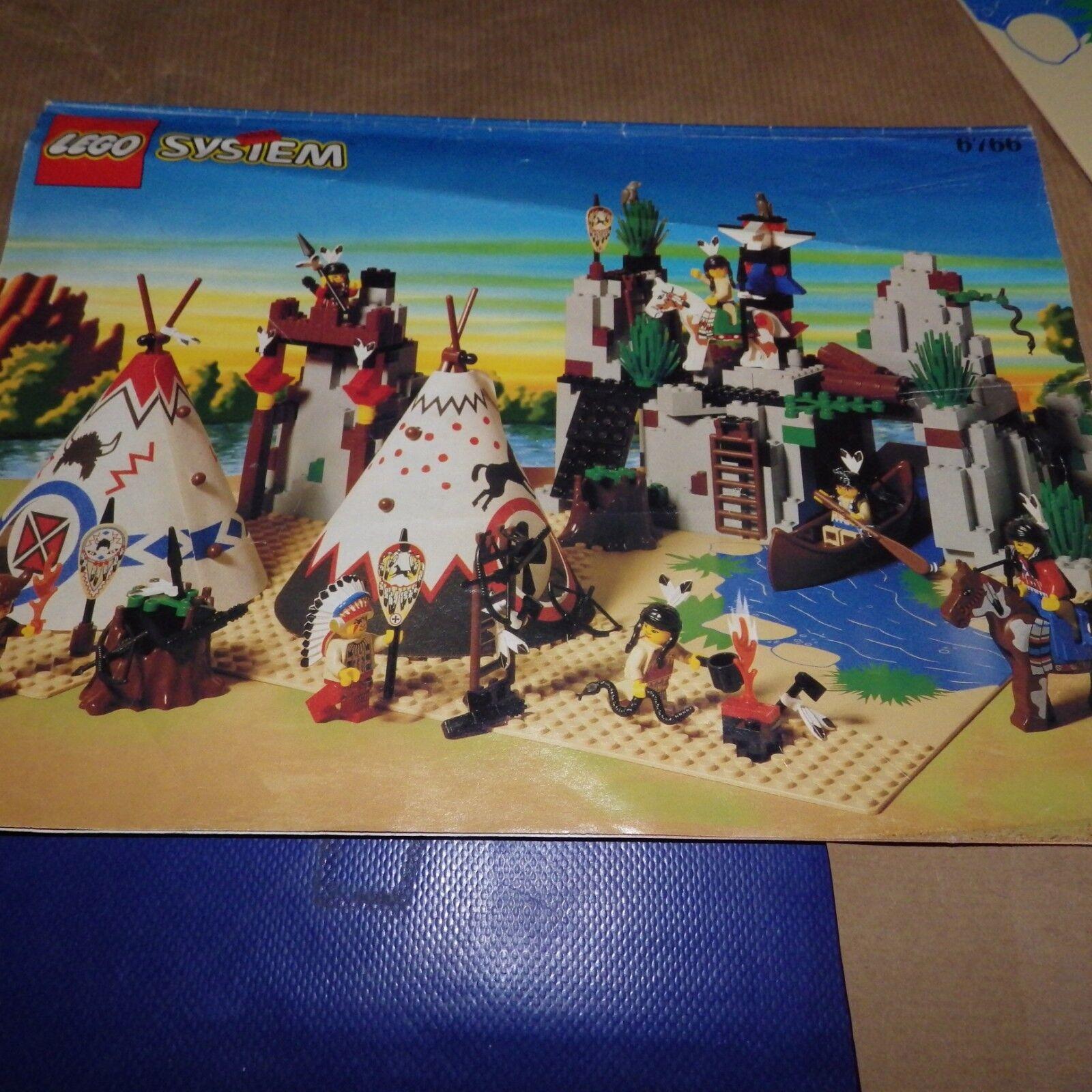 Lego Western Rapid River Indian Village 6763