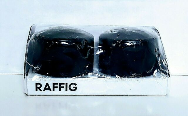 2 pack black Finial IKEA RAFFIG