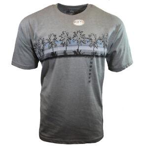 Men-Tee-T-Shirt-S-M-L-XL-Beach-Hawaiian-Aloha-Surf-Relax-Graphic-100-Cotton-NEW