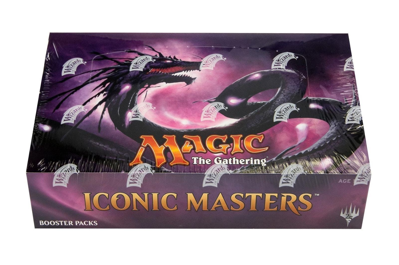 Magic the Gathering MTG Iconic Masters Factory Sealed Booster Packs x 4