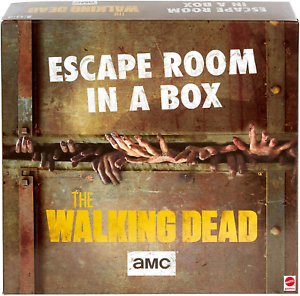 Party Game for 4 to 8 Players Escape Room in a Box:The Walking Dead Board Game