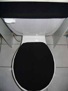 Elongated Toilet Seat Cover