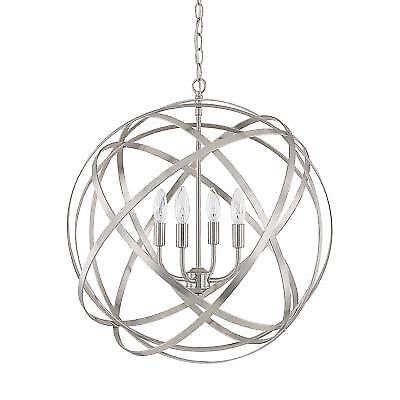Buy Capital Lighting 4234bn Axis 4 Light Pendant In Brushed Nickel