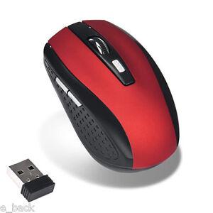 2.4ghzGHz ratones ratón óptico Sin Cables Receptor USB ordenador INALÁMBRICO