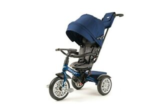 Bentley 6-in-1 Baby Stroller//Kids Trike Jetstream Blue