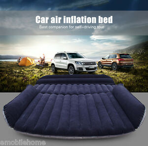 Drive-Travel-Car-Air-Inflation-PVC-Bed-SUV-Back-Seat-Mattress-Camping-Companion