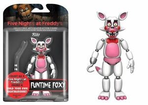 """New 2017 Five Nights At Freddy's FUNTIME FOXY 5"""" Figure IN STOCK"""