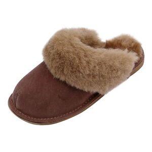 Details zu Lammfell Hausschuhe NEW ZEALAND Damen Pantoffeln Fellschuhe Puschen