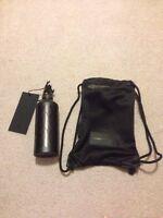 Alexander Wang X H&m Water Bottle With Mesh Drawstring Bag Black