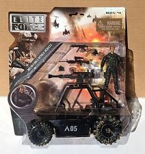 Elite Force DELTRA FORCE ATTACK VEHICLE ATV  Military with action figure