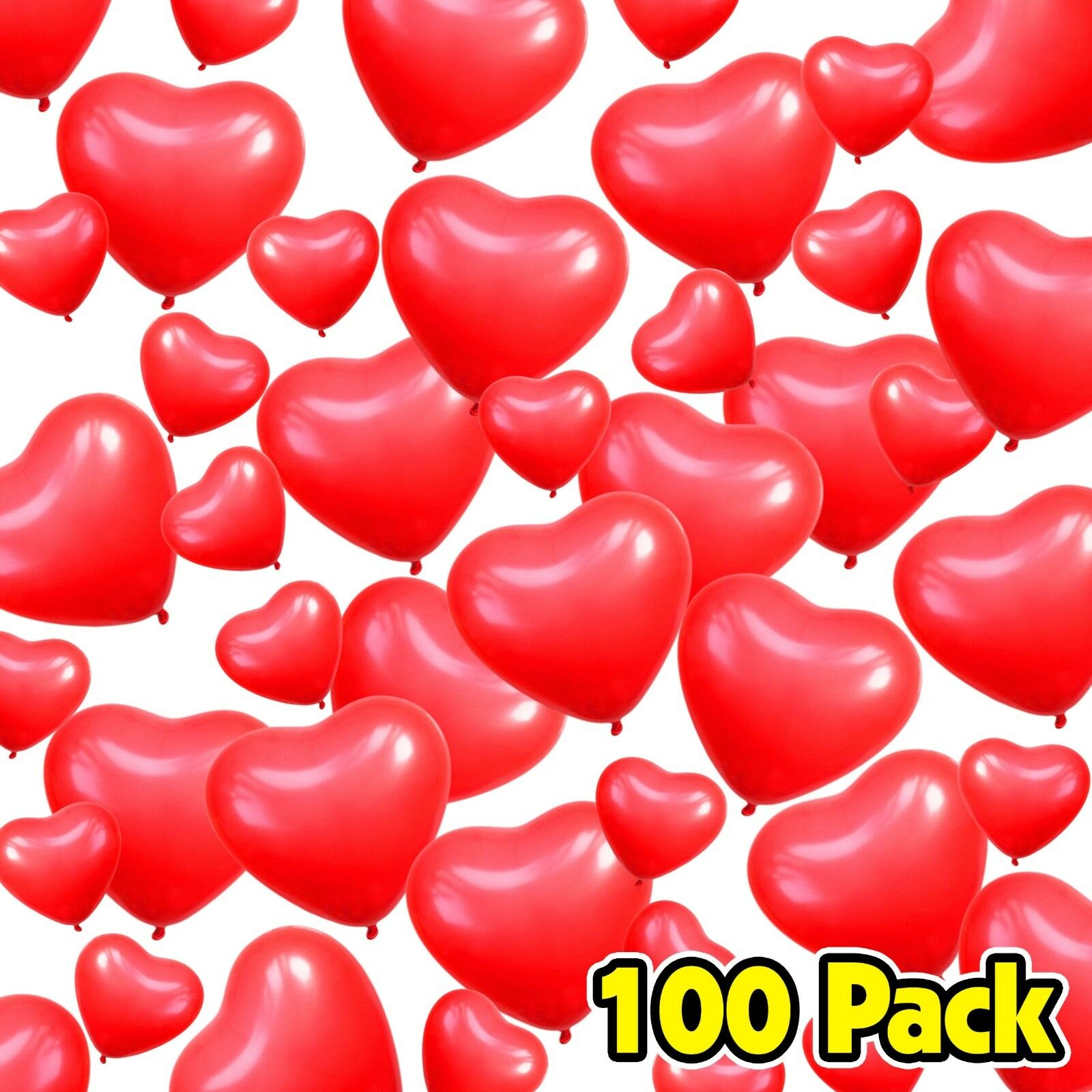 Anniversary Mini Red Love Heart Balloons for Valentines Wedding