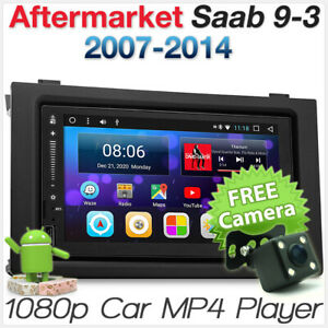 Details about Android Saab 9-3 93 Car Player GPS Sat Nav Stereo Head Unit  Radio Fascia Kit MP3