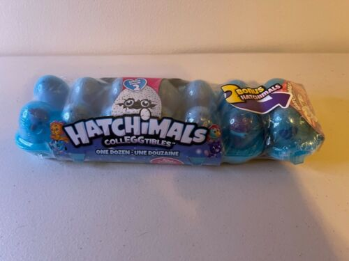 Hatchimals Colleggtibles Season 2 One Dozen Egg Carton Brand New plus 2 Bonus