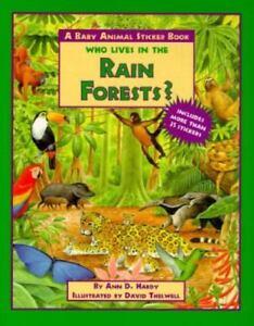 Image of: Jaguar Image Is Loading Wholivesintherainforestbabyanimal Ebay Who Lives In The Rain Forest Baby Animal Sticke 9780689803512 Ebay