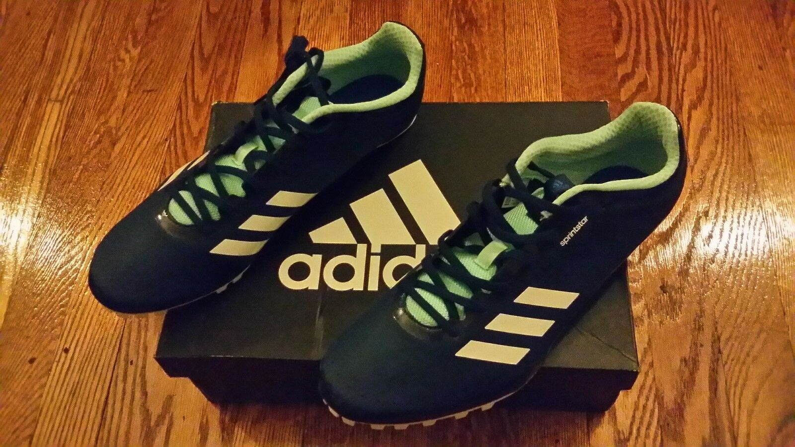 Adidas SprintStar Track and Field Sprint Spikes Sz12 NWT MSRP  79.99