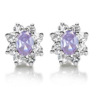 Women-Jewelry-Sale-Oval-Cut-White-Gold-Plated-Stud-Earrings