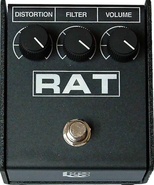 ProCo Rat2 distortion Pedal RAT RAT RAT 2 Authorized Dealer Priority Ship SOUNDS GREAT   Tu satisfacción es nuestro objetivo