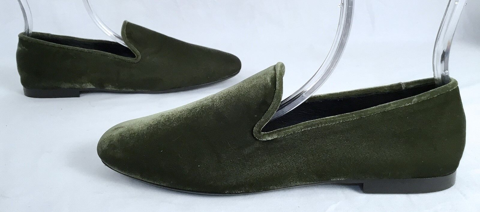 NEW   Vince 'Bray' Velvet Smoking 298-(J4) Loafers -Moss -Größe-US 7.5/EU37.5- 298-(J4) Smoking b46c9f