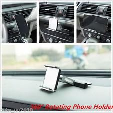 """In-Car 360° Rotation Mount Holder CD Slot For 3.5-5.5"""" Mobile Phone GPS Sat Nav"""