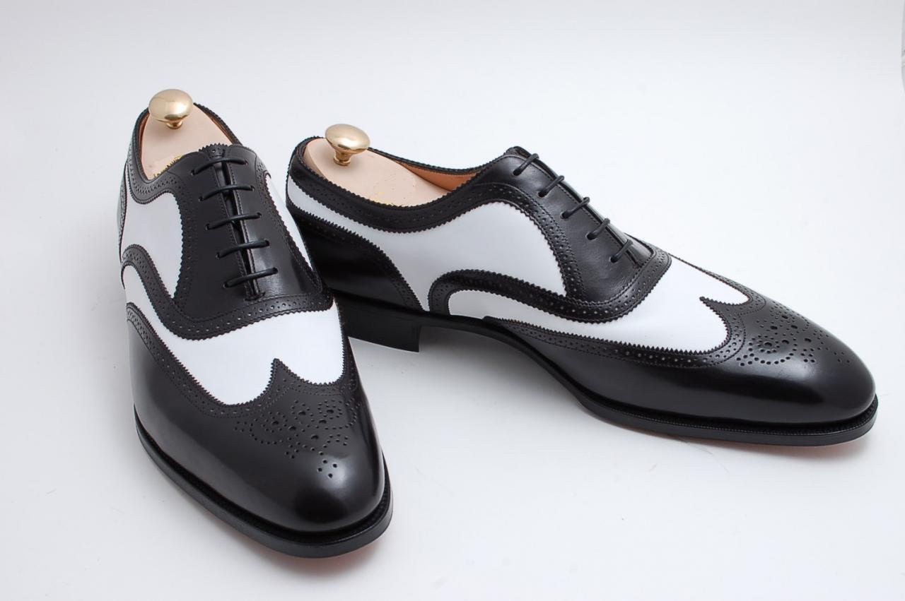 Wing Tip Casual Pelle Dress Stivali Handmade Uomo Genuine Pelle Formal Shoes