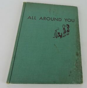 All-Around-You-First-Look-at-the-World-HC-1951-Autographed-by-Jeanne-Bendick