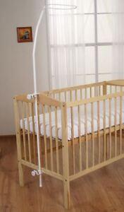 WALDIN Himmelstange für Baby Stubenwagen,Bollerwagen Schleierhalter