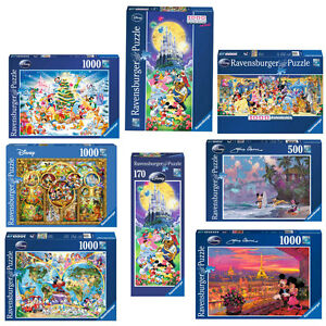 ravensburger puzzle erwachsene disney mickey maus schloss. Black Bedroom Furniture Sets. Home Design Ideas