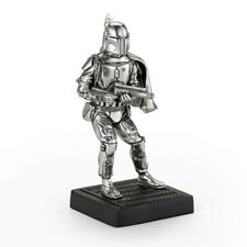 Star Wars Pewter Figurine Boba Fett - Lucasfilm Approved - by Royal Selangor
