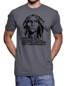 Anti-Government-Vintage-Native-American-Indian-Tshirt-Anarchy-Punk-Shirt-For-Men