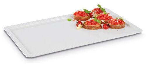 Buffet Tablett GN1//1 Melamin Serviertablett Servierplatte weiß Gastlando 10 Stk