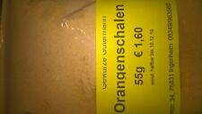 Orangenschalen gemahlen (unbehandelt) 55g -OHNE ZUSATZSTOFFE- Gewürze Gütermann