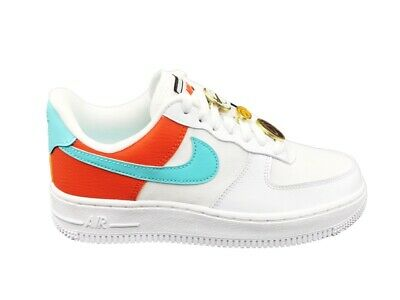 nike air force 1 arancioni e nere
