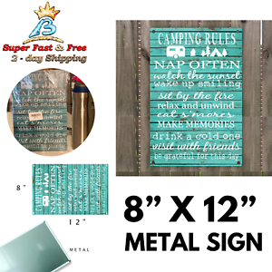 S/'Mores Metal Sign