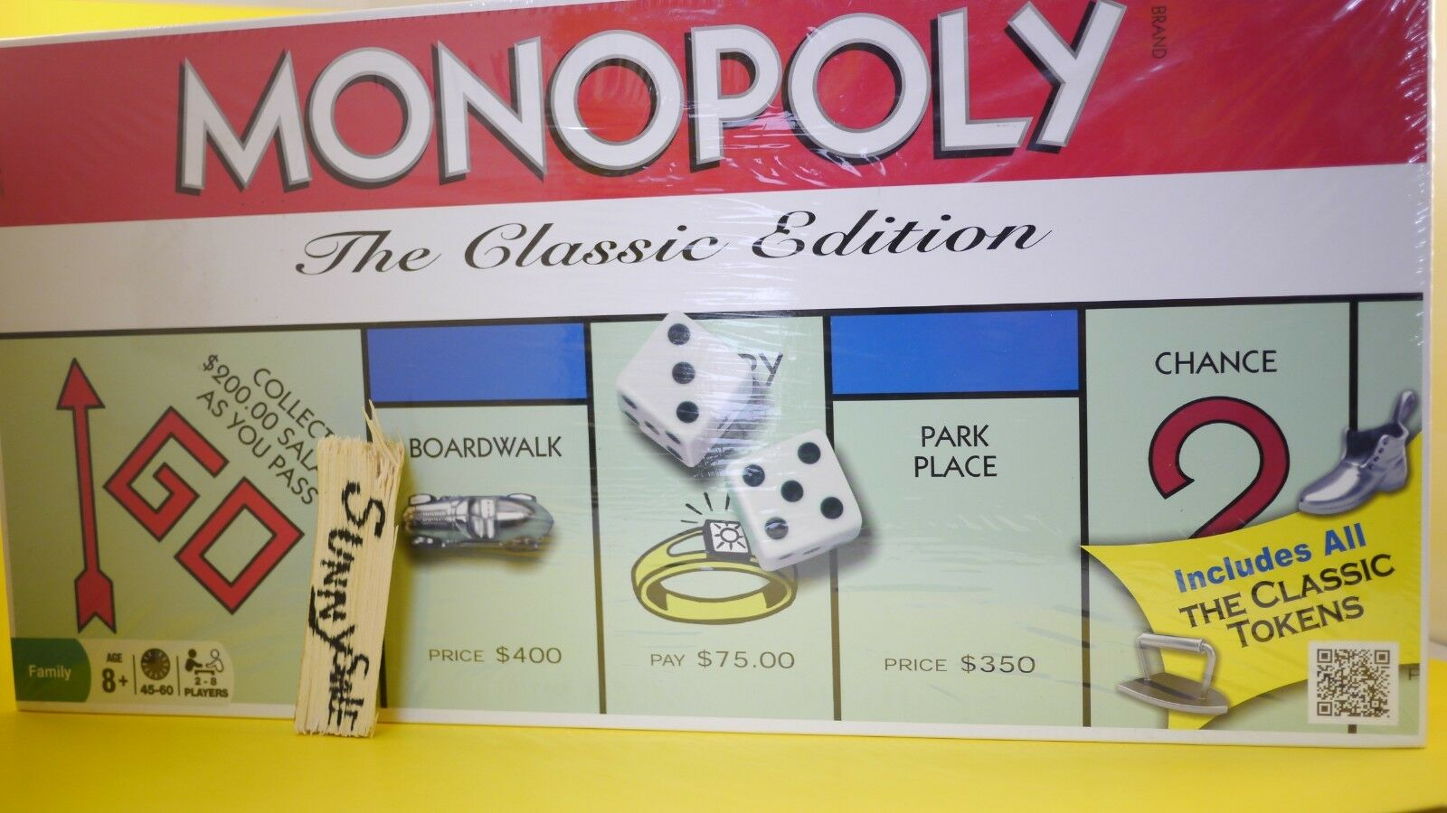 Monopolio la edición clásica por Hasbro Board Winning Moves Juego Bota De Hierro 2013