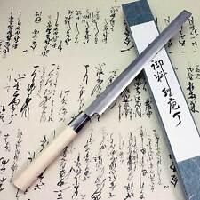 Japanese Knife Tojiro Sushi Sashimi White Steel Shirogami Takohiki 240mm F-912