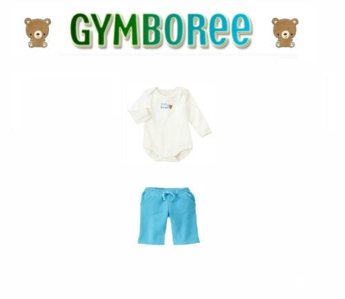 "Gymboree Boy/""Animal Friends/"" Bear Fleece Pants /&Top  Set Size 0-3//3-6//6-12"