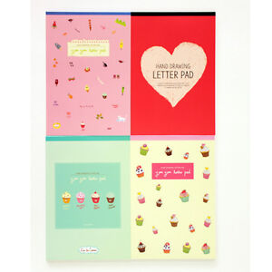 48sheets-Cute-girls-Drawing-yumyum-Letter-Lined-Writing-Stationery-Paper-Pad
