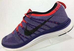 new arrival c7ade 72158 Image is loading Nike-Flyknit-Lunar-1-Running-Shoes-Purple-Training-