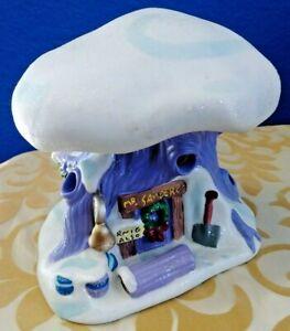 Disney-Winnie-The-Pooh-Snow-Village-House-Mr-Sanders-Treehouse