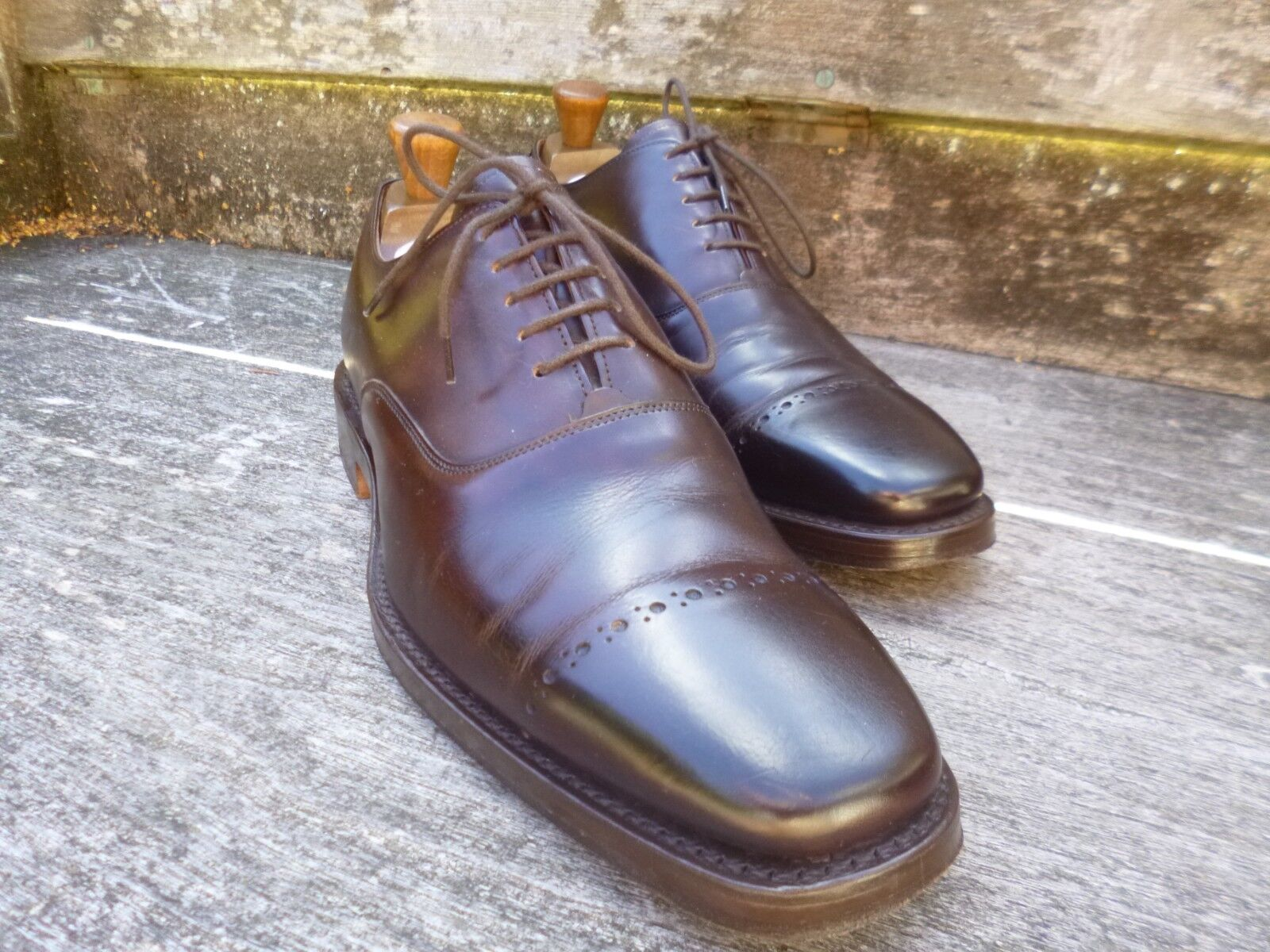 CHEANEY BROGUES – braun – UK 8.5 – PERRY - EXCELLENT CONDITION