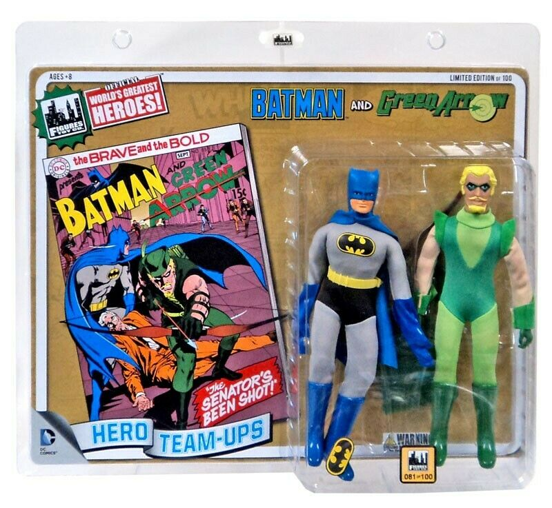 Batman & Green Green Green Arrow Retro Action Figures cff1f2