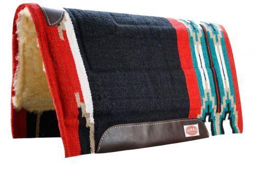Showman Schwarz 81.3cmx86.4cm Schneider Style Pad Pad Pad W   Kodel Fleece & Leder  Neu     | Verschiedene Stile  14adf3