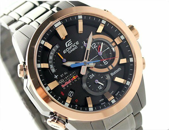 Casio Edifice Eqb 510rbm 1a Infiniti Red Bull Racing Limited Edition