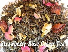 Organic Strawberry Rose Green Tea 8oz (1/2 lb) loose leaf   Aromatic, delicious