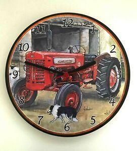 McCormick-International-Tractor-Wall-Clock-Clock-new