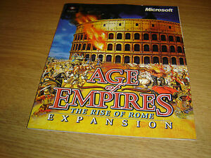 AGE OF EMPIRES THE RISE OF ROME EXPANSION PC GAME INSTRUCTIONS BOOKLET MANUAL - <span itemprop='availableAtOrFrom'>Wakefield, United Kingdom</span> - AGE OF EMPIRES THE RISE OF ROME EXPANSION PC GAME INSTRUCTIONS BOOKLET MANUAL - Wakefield, United Kingdom