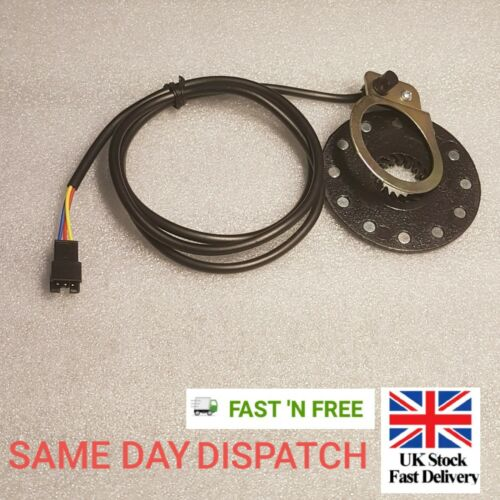 Speed Sensor Electric Bicycle Pedal PAS 12 Magnets E-bike System Assist Black UK